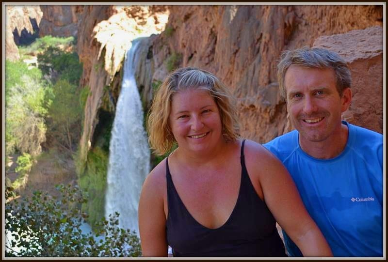 Jenn and Ed at Havasu Falls