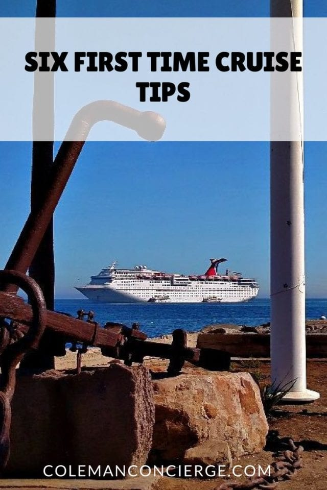 Six First Time Cruise Tips