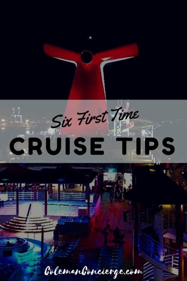 Check out these six first time cruise tips to learn what we wish we would have known before taking a cruise. #Cruisetips #cruise