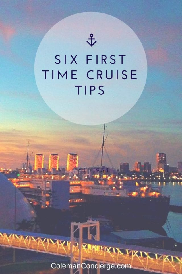 Taking your 1st cruise and unsure of what to expect? Learn from our mistakes! Check out our six cruise tips we wish we knew before we embarked our first cruise. #CruiseTips #Baja #Cruise #California