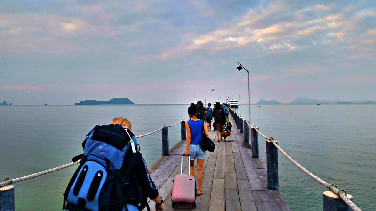 We wish we packed lighter for backpacking in Thailand