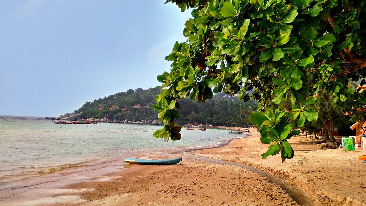 Sairee-Beach on Koh Tao