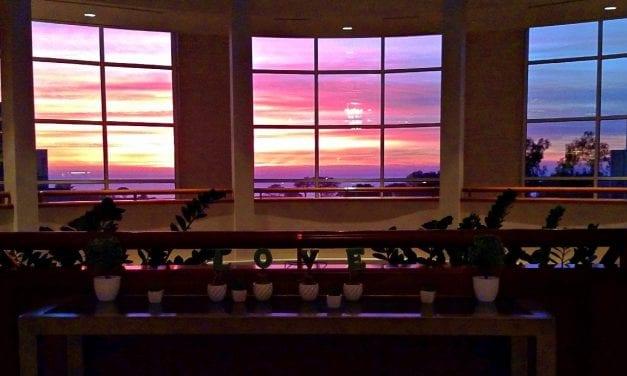View from Lobby Hilton La Jolla Torrey Pines
