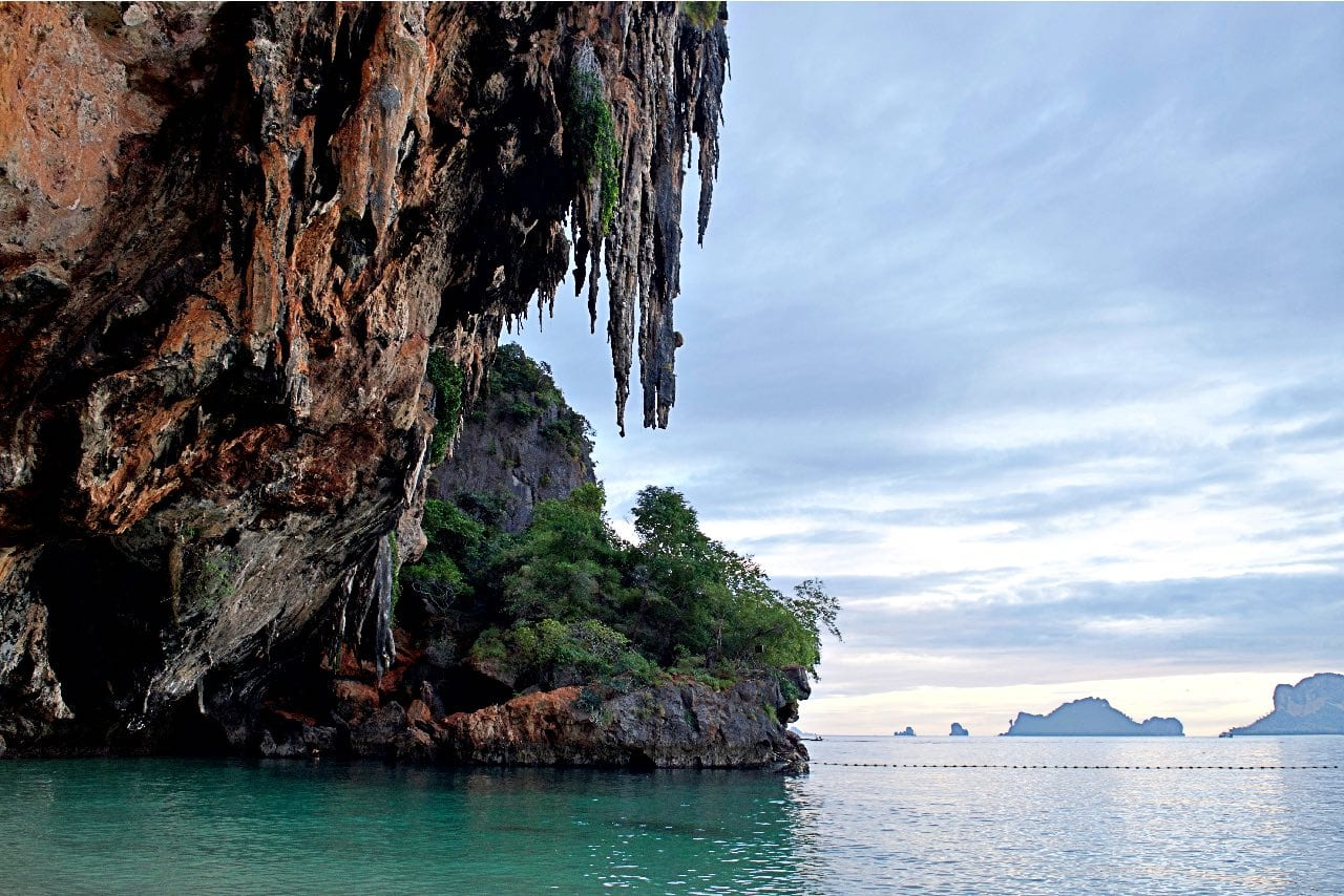 Karst features on the Andaman Sea