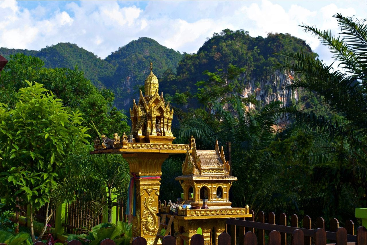 Spirit Houses in Khao Sok