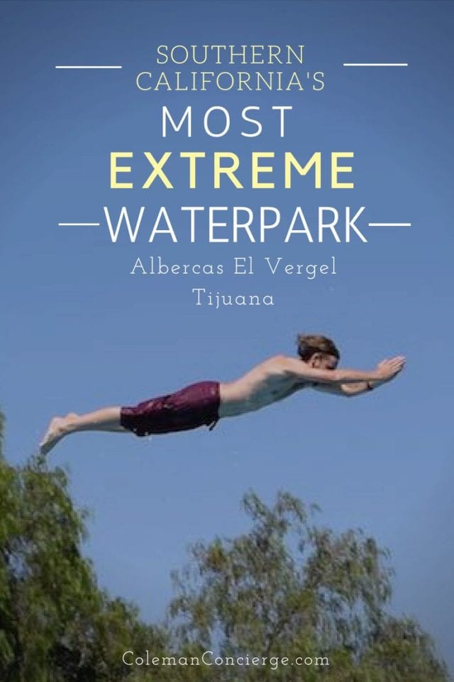 Looking to cool off this summer? Make a run for the border to southern California's most extreme waterpark Albercas El Vergel. Located in Tijuana, El Vergel offers thrills, spills, cold beer and mighty tasty food to boot. Our guide will give you the goods on this Mexican gem. #WaterParks #Mexico #SanDiego #SummerFun #Tijuana