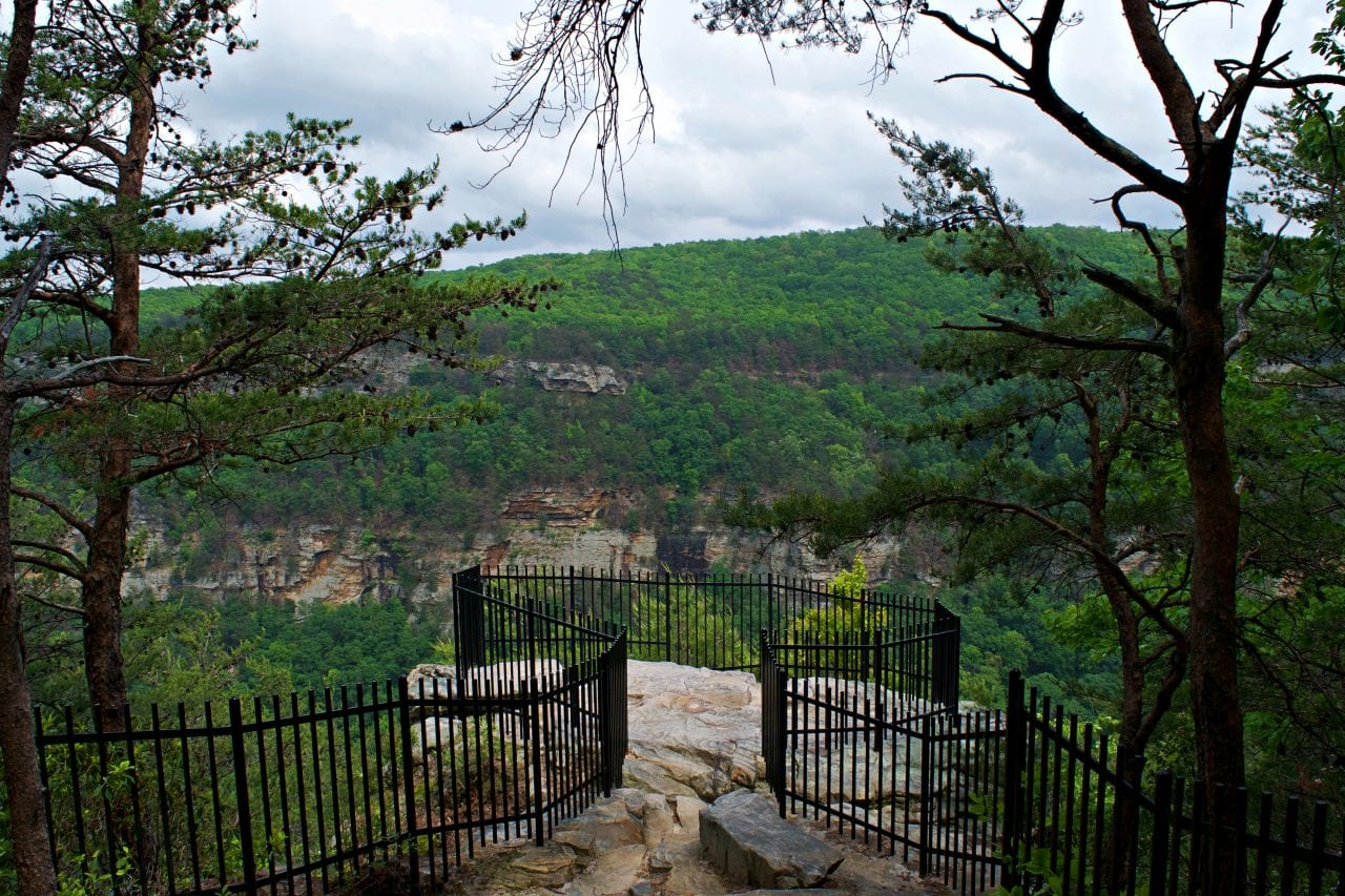Could this be the most epic overlook at Cloudland Canyon?