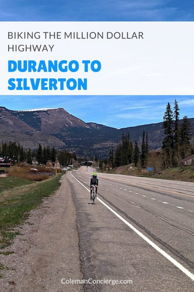 Over Memorial Day thousands of cyclists converge on Durango Colorado to ride the Iron Horse Classic from Durango (6500') over Molas Pass (10,900) and down into Silverton (9300'). Epic climbs and gorgeous mountain vistas highlight this classic ride through Colorado's high country. Click to learn more about this route so you may ride some or all of it! #Colorado #Cycling #Durango #Biking #Silverton