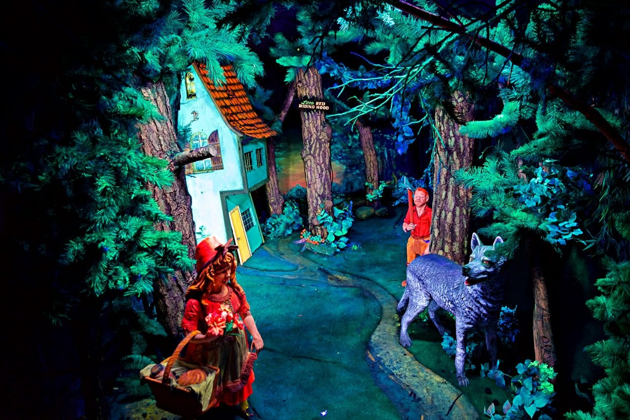 Little Red Riding Hood at Fairyland Caverns