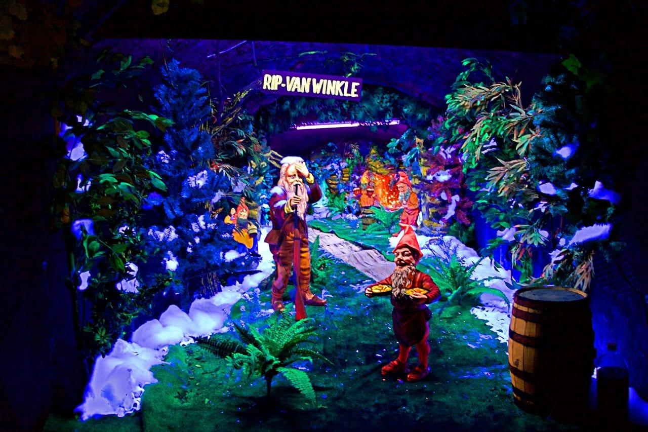 Rip Van Winkle in Fairyland Caverns