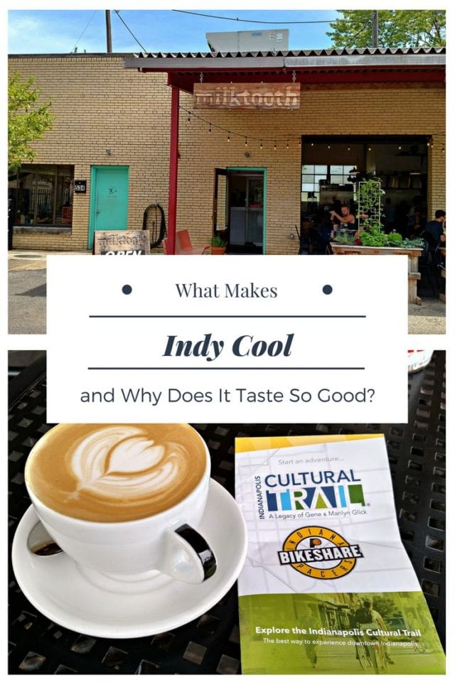 Why is Indy Cool and what's to eat?