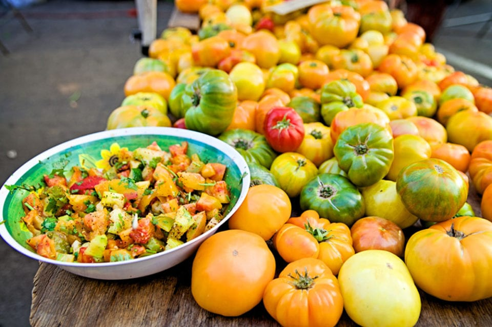 The Ocean Beach Farmer's Market is a great place for fresh California produce: photo credit -> oceanbeach