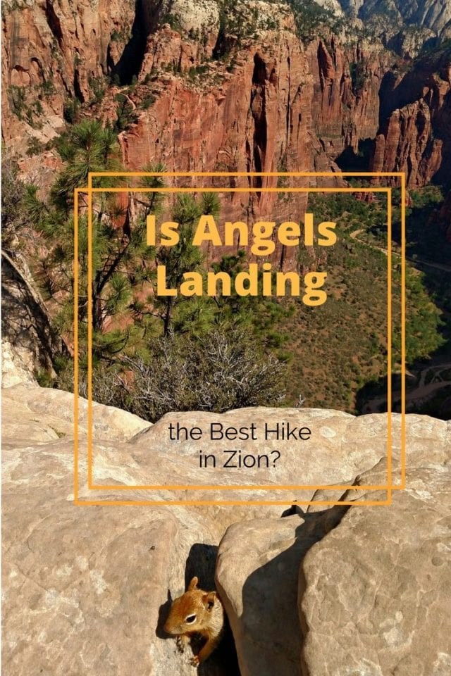 Visiting Zion National Park? Angels Landing is the bucket-list hike you must experience for yourself! Our guide will give you the details that you will need to know to take on this challenging and epic hike for yourself. #AngelsLanding #ZionNationalPark #Hiking #Utah #Adventure