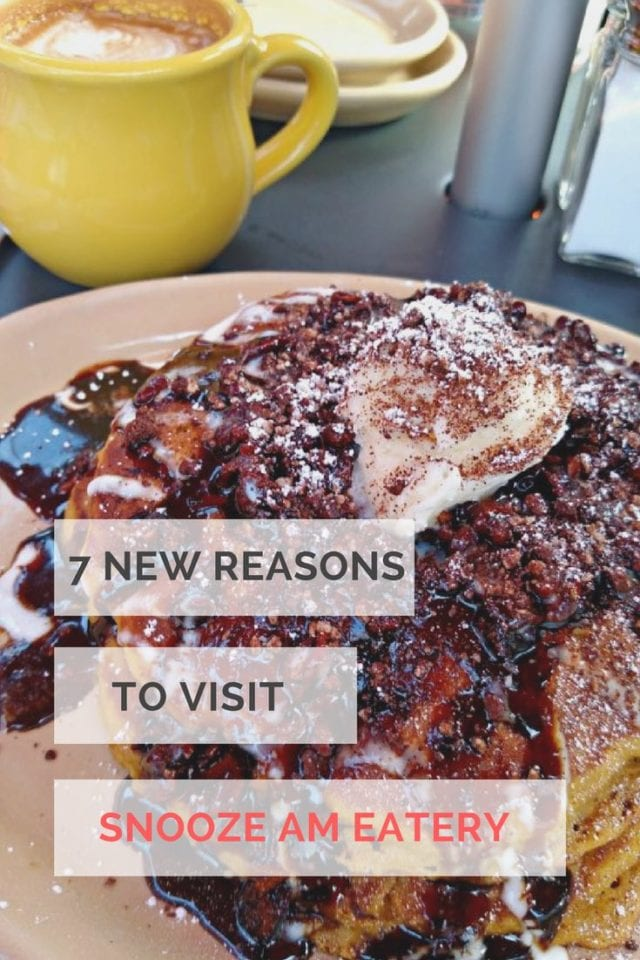 7 New Reasons to Visit Snooze AM Eatery