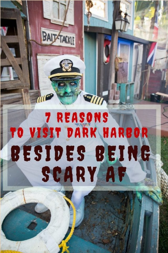 Seven Reasons to Visit Dark Harbor Besides Being Scary AF