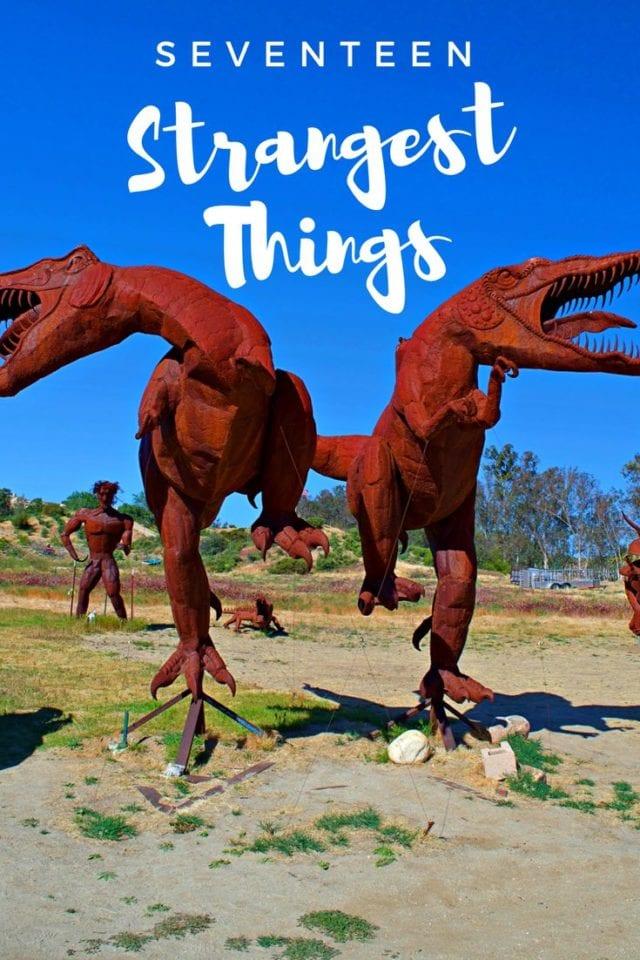 SEVENTEEN STRANGEST THINGS