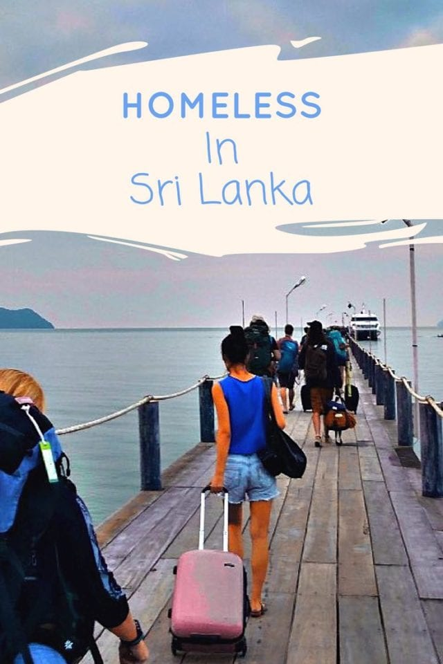 Homeless in sri Lanka