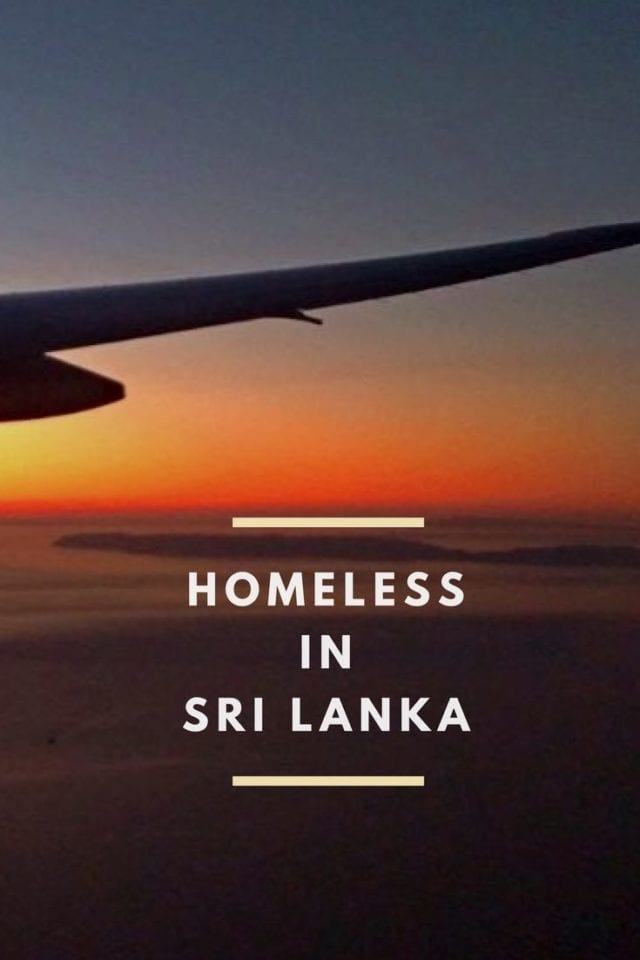 Homeless in Sri Lanka