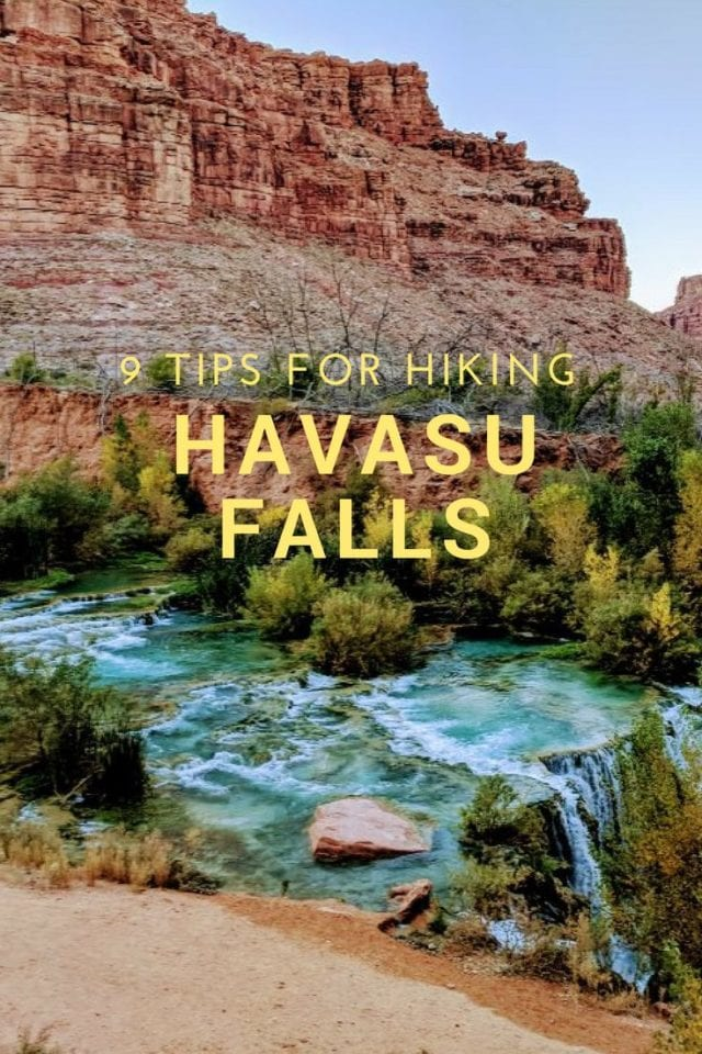 9 Tips for Hiking Havasu Falls