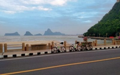 Cycling Thailand Through Our Eyes – Cruising the Coast to Samui