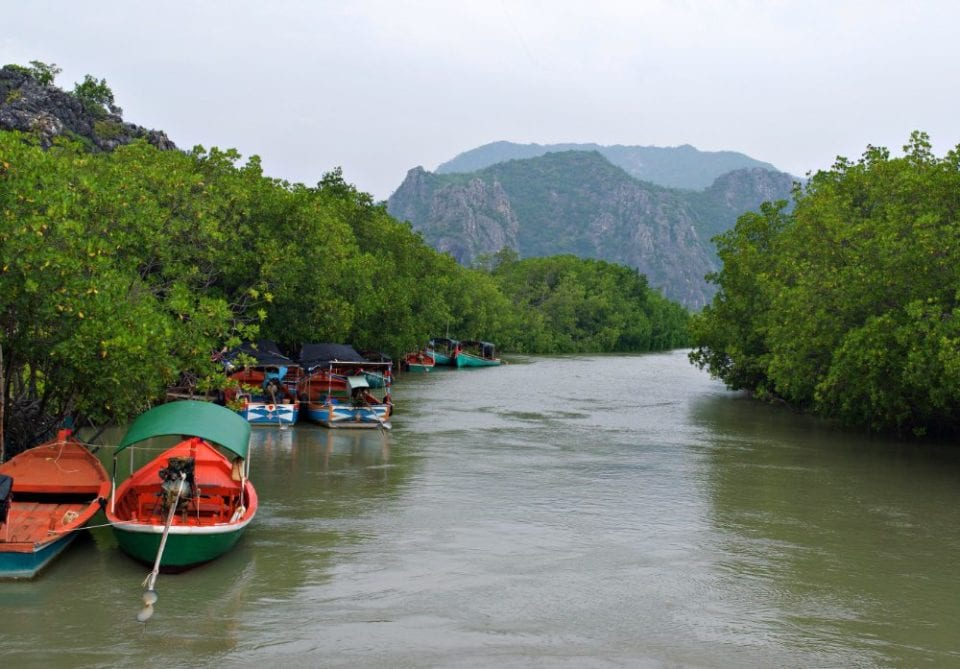 Boat tours at Khao Sam Roi Yot National Park