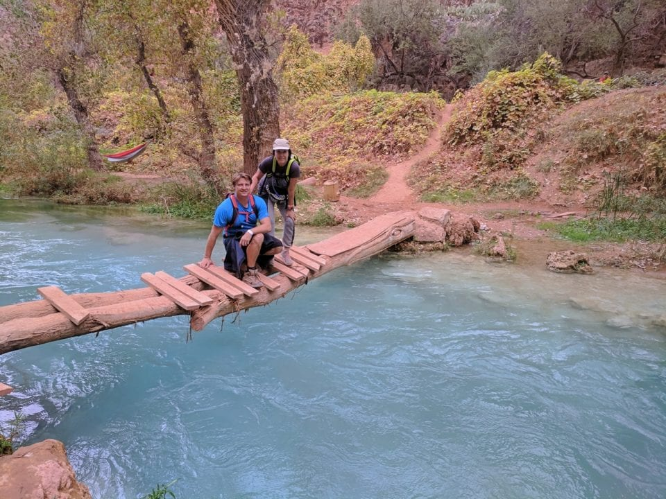 Campers in the Havasu Creek Campground