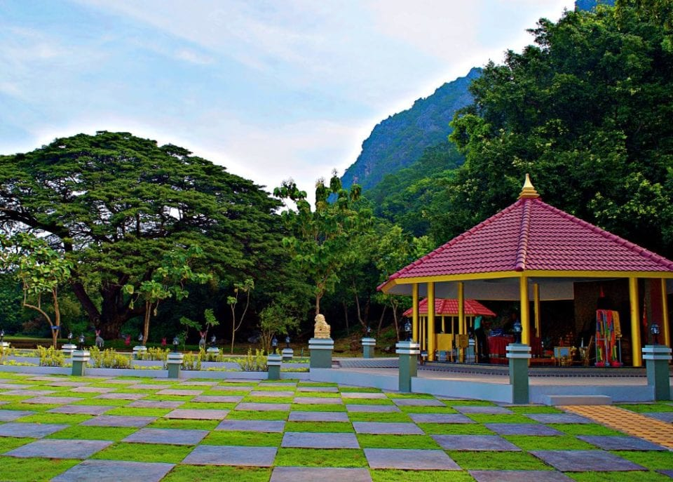Alice in Wonderland? No it's a park at Wing 5 Prachuap Khiri Khan