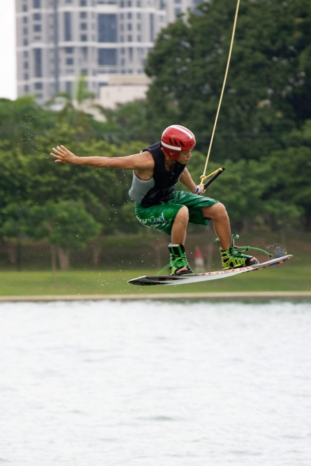 Cable Skiing in Singapore