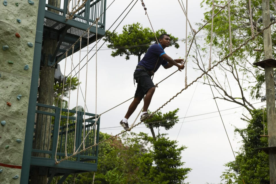 Adventure course in Singapore