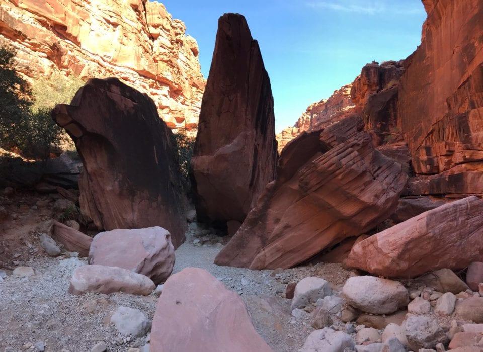 Sandy trail in Cataract Canyon (photo by Jennifer Ruiz)