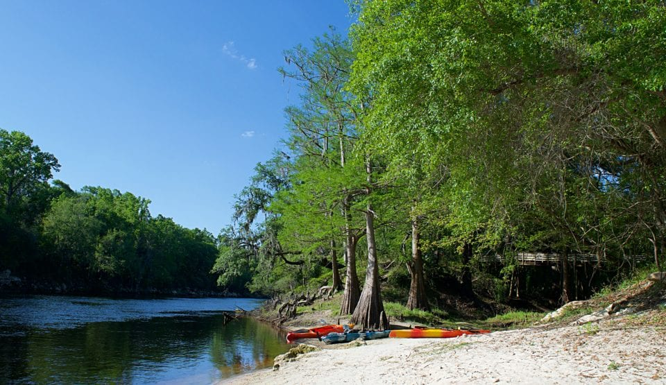 Suwannee River State Park boat launch