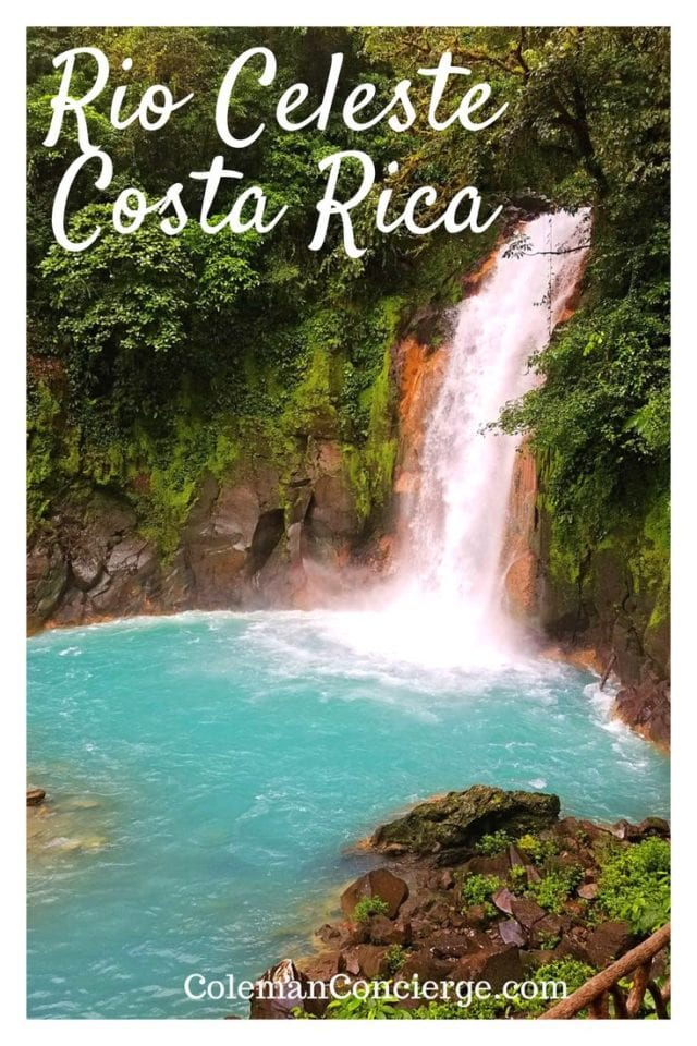 Have you ever wondered what makes Costa Rica's iconic river and waterfall, the Rio Celeste so blue? Click pin to find out more about Costa Rica's most famous natural wonder including 13 tips you must know before visiting including the source of the stunning blue color. #CostaRica #Waterfalls #RioCeleste