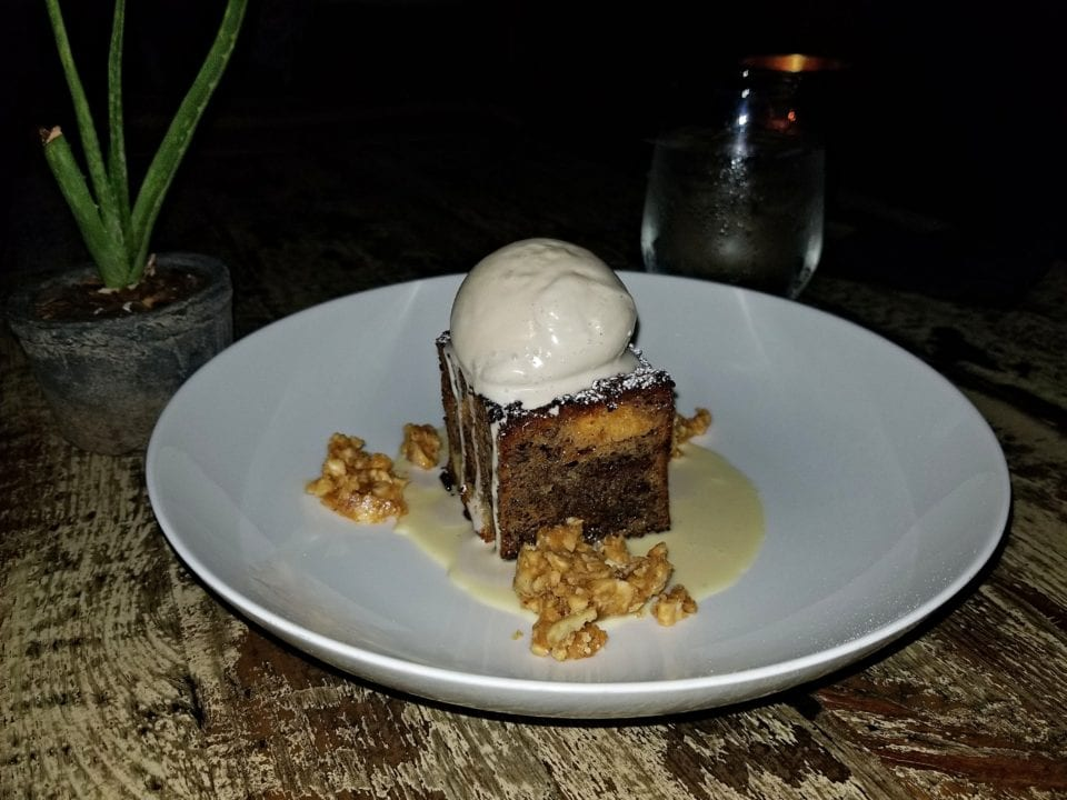 No romantic date is complete without dessert