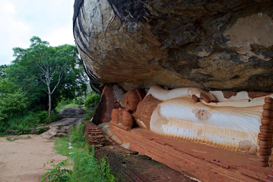 Brick Buddha at Pidurangala Rock