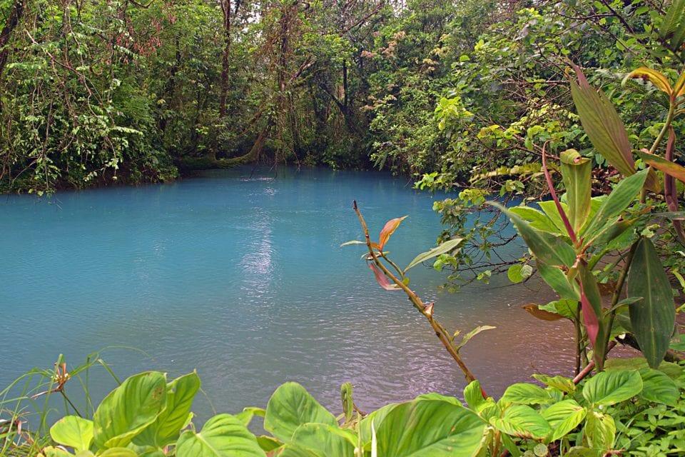 Laguna Azul at Rio Celeste