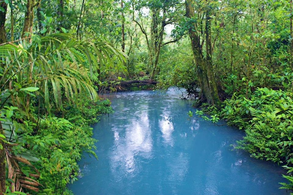 Laguna Azul at Rio Celeste, Costa Rica
