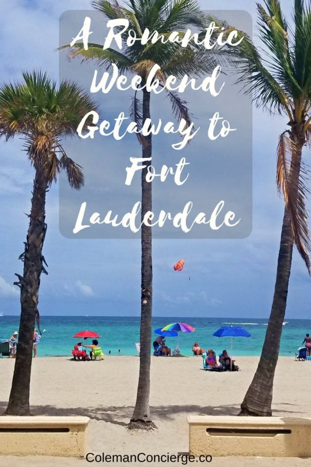 Looking to take a romantic weekend getaway with your special someone? Fort Lauderdale Florida has all of the makings for romance. There is nothing like the smell of the ocean breeze, delicious culinary offerings, adventurous outdoor activities, and romantic strolls hand and hand to create memories to last a lifetime. Click the pin to find out our recommendations for the ultimate romantic getaway. #RomanticGetaway #FortLauderdale #Florida #WeekendGetaway #RomanticWeekend