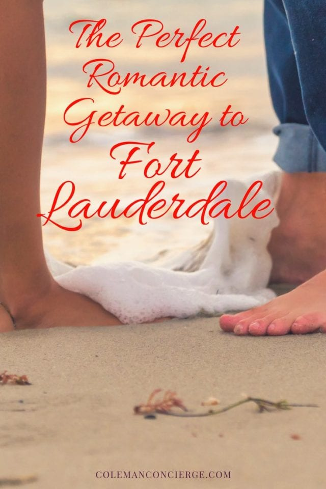 Looking for the perfect romantic getaway? Look no farther than Fort Lauderdale Florida. With 7 miles of beaches in town there is no shortage of water activities and romantic strolls, but there's more. Fort Lauderdale calls itself the Venice of America with over 300 miles of canals, & what's more romantic than that? Click to create a weekend getaway guaranteed to ignite that romantic spark. #RomanticGetaway #FortLauderdale #Florida #WeekendGetaway #RomanticWeekend