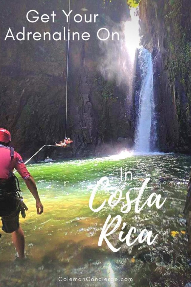 Get your adrenaline on #PuraVida style on a Costa Rica adventure travel trip! Two of the most adventurous activities you can book on a group tour are canyoneering and waterfall jumping. Our guide will give you the goods on both...and a few fun videos ;-) #CostaRica #Canyoneering #Waterfalls #AdventureTravel