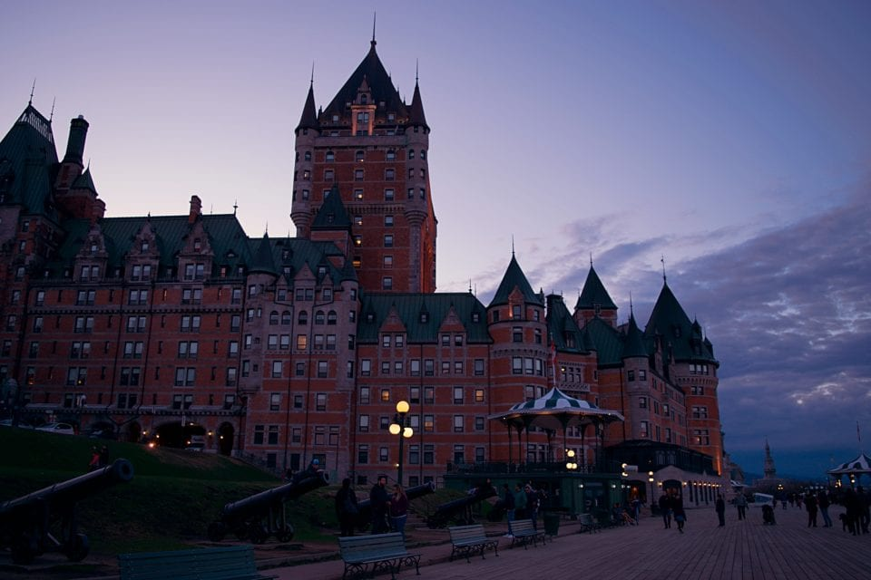 A perfect ending to your Quebec City Getaway at Chateau Frontenac