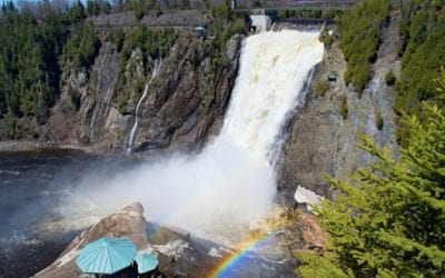 Quebec Bike Tour – The Best Way Visit Montmorency Falls