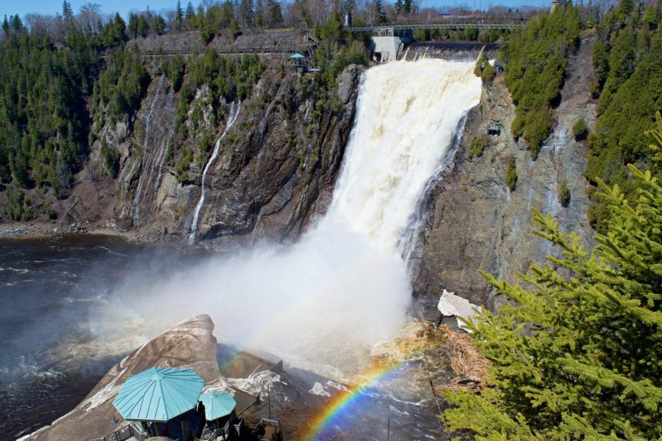 Quebec Bike Tour – The Best Way to Visit Montmorency Falls