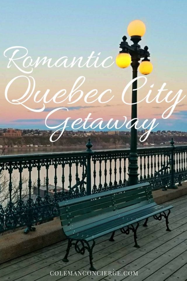 Heading to the great white north with your love for a romantic weekend away? Look no further than Quebec City! This little French city in Canada is romance at its finest. Learn more about all of the ingredients needed to cook up your own spring rendezvous. #RomanticGetaway #QuebecCity #Canada #CouplesTravel #Quebec #TripPlanning