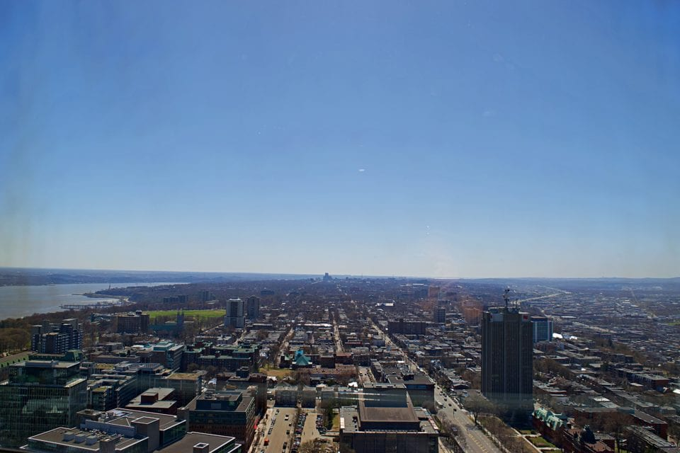 View of Quebec from Observatoire