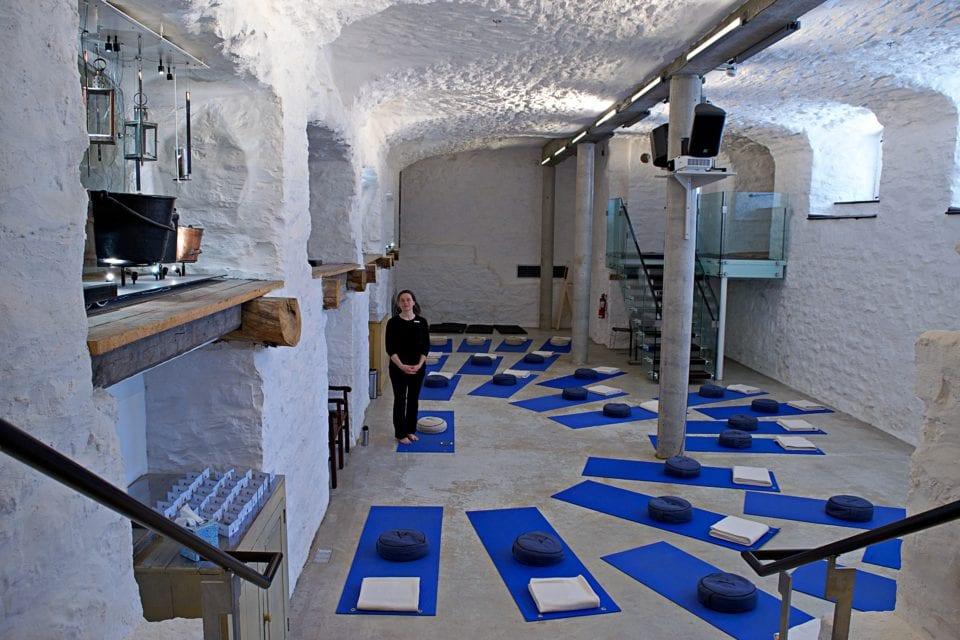 Yoga Room at Le Monastère des Augustine