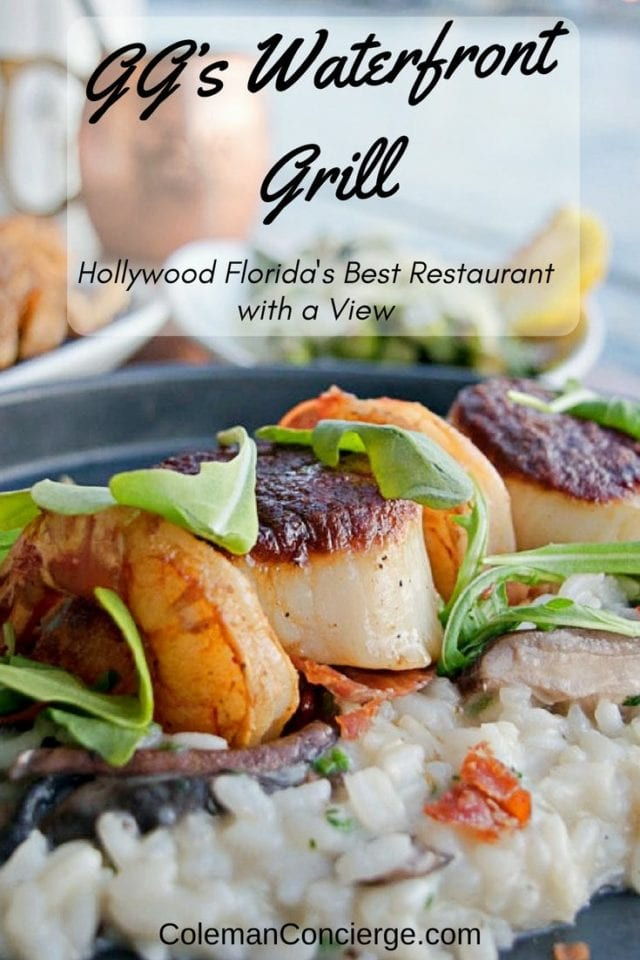 If you are looking for a romantic and delicious meal in the Fort Lauderdale / Hollywood Beach Florida area, look no farther than GG's Waterfront Grill. GG's offers affordably priced seafood and steaks served dockside with magnificent views of daily sunsets. #HollywoodBeach #BestRestaurants #FortLauderdale #RomanticRestaurants #Florida