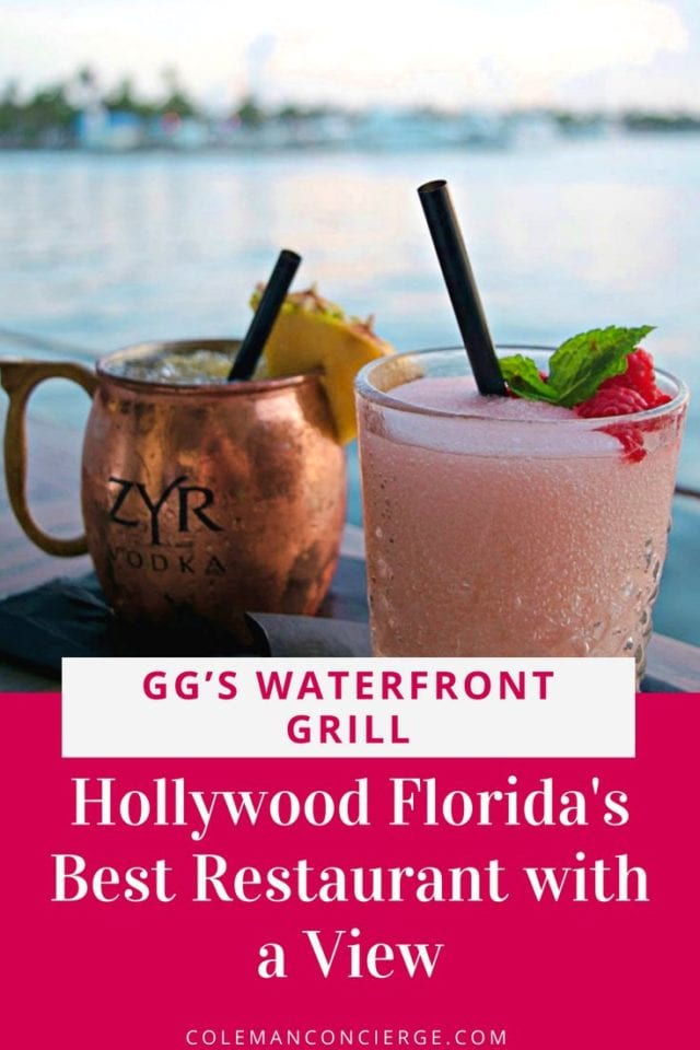 Combine iconic history, affordably priced seafood, and delicious steaks. Compliment with a dockside location offering magnificent views of daily sunsets. The result is GG's Waterfront Grill, a can't miss dining experience in Fort Lauderdale / Hollywood Beach Florida. #HollywoodBeach #BestRestaurants #FortLauderdale #RomanticRestaurants #Florida