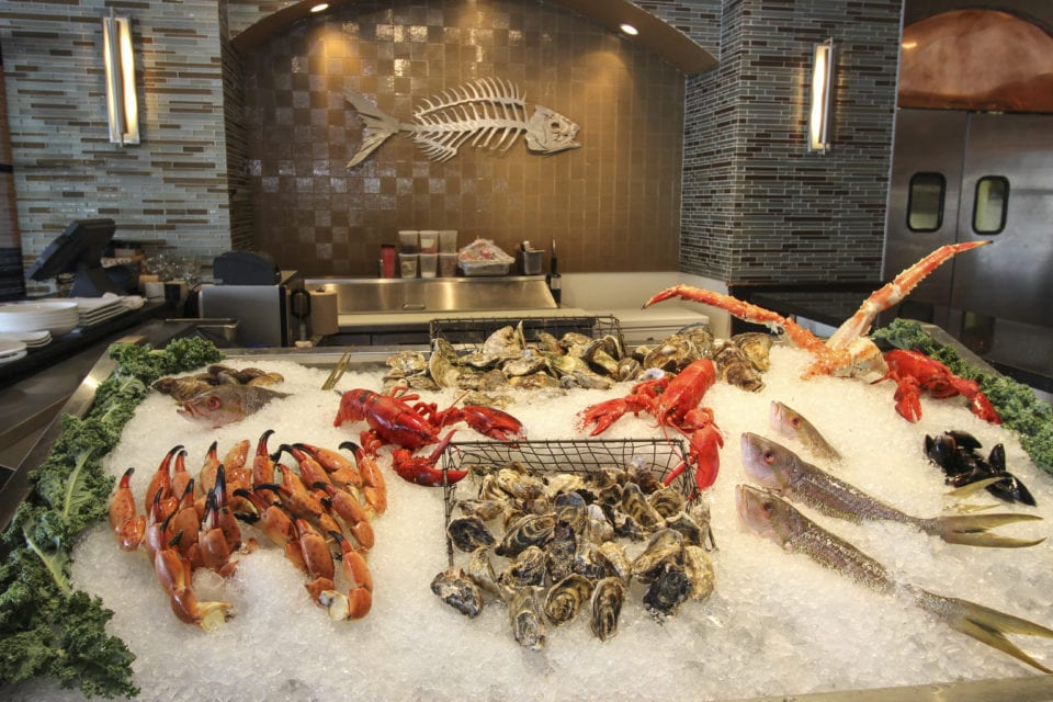 Seafood Spread (Photo courtesy of GG's Waterfront)