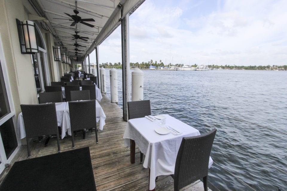 GG's Waterfront Patio Seating (Photo courtesy of GG's Waterfront)
