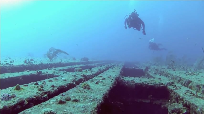 Sea Emperor dive site (still from PDC dive video)